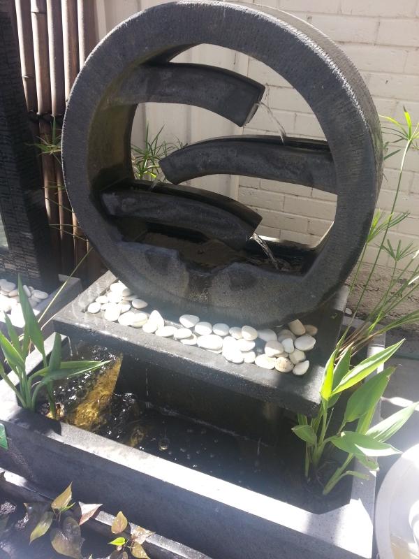 Water Wheel Concrete Small