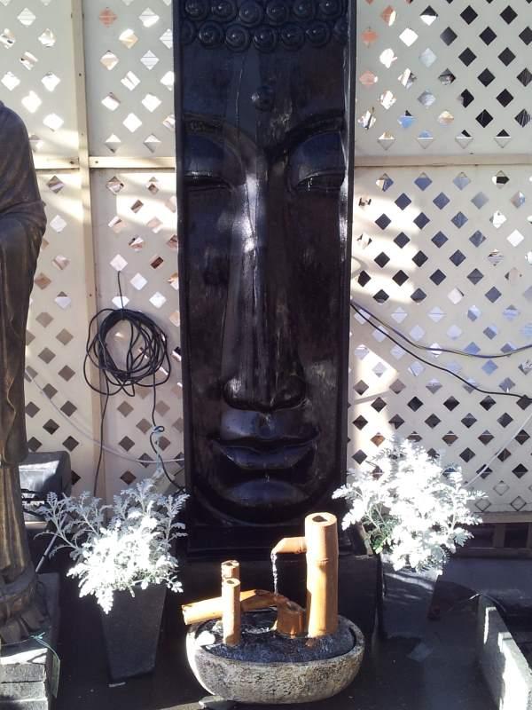 Buddha Face Large Tall