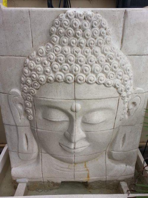 Buddha Face Panel Terrazzo