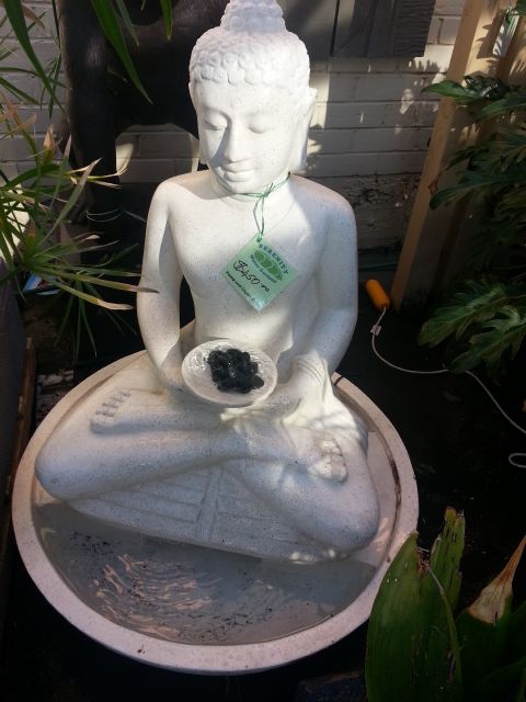 Sitting Buddha Water Feature