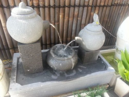 Teapots Water Feature