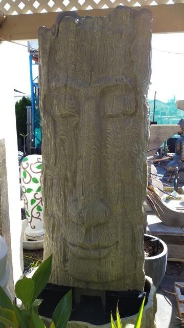 Buddha Face, Narrow  Water Feature