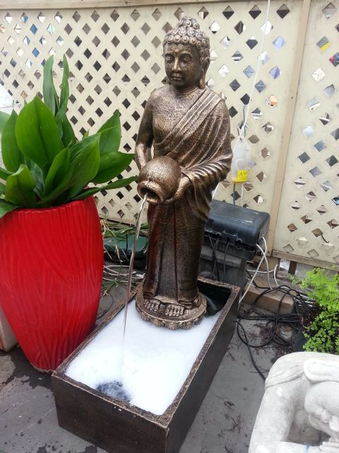 Buddha Pouring Water Feature