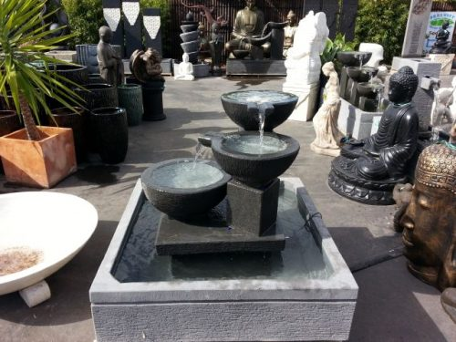 3 Bowls on Dias Water Feature