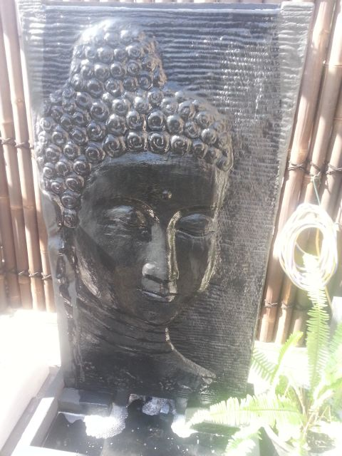 Buddha Face Panel, Water Feature