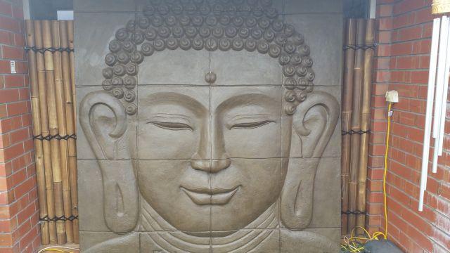 Large Buddha Wall Panel (ears)