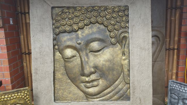 Large Buddha Panel