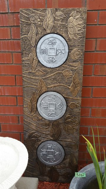 Chinese Coin Panel