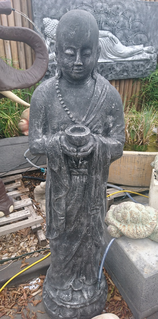 Monk, Standing Monk Candle Holder