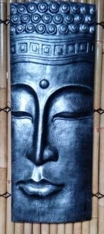Half Face Buddha Panel