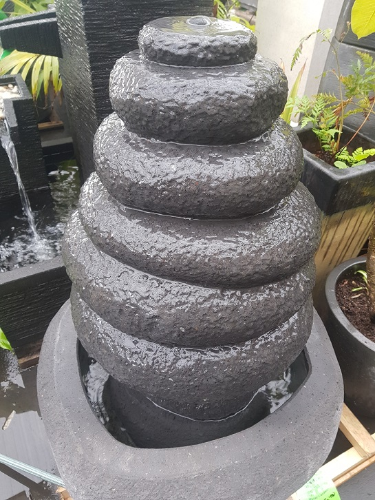 Stone Stack Water Feature (Small)