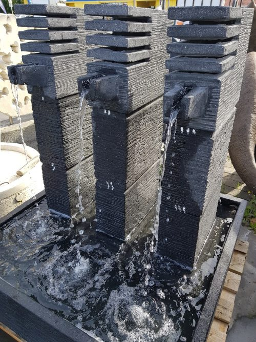 3 Flowing Tower Water Feature