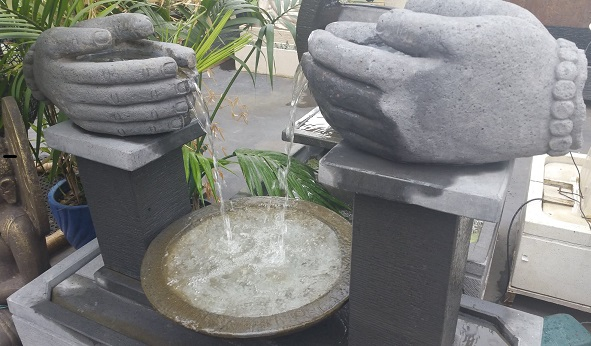 Flowing Hands Water Feature