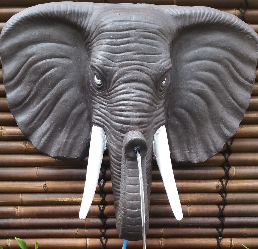 Elephant: Wall Water Spitter (Small)