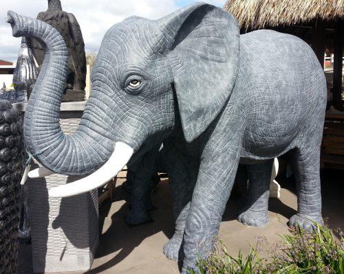 Elephant:  Full Size Elephant Water Feature