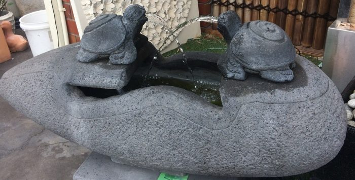 Turtles:  Twin Turtles Water Feature