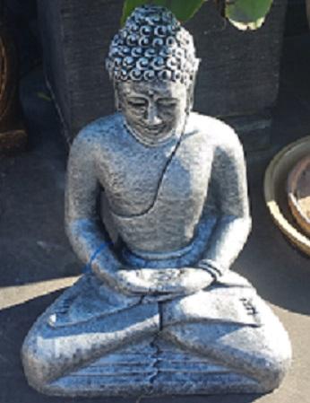 Buddha Sitting Hands in Lap (Meditating)