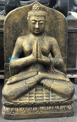 Buddha Praying Buddha with Background