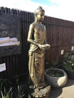 Buddha, Standing Buddha with Bowl