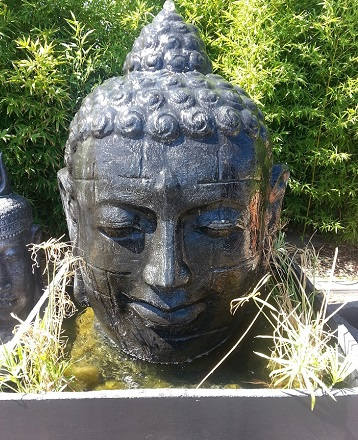Buddha Head Water Feature