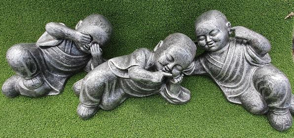 Monks, Hear no Evil, Speak no Evil, See no Evil  Lying Down