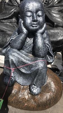Monk On Rock