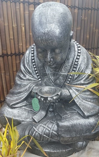 Monk, Big Monk With Bowl