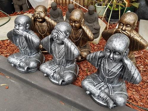 Monks, Hear no Evil, Speak no Evil, See no Evil  Type 3