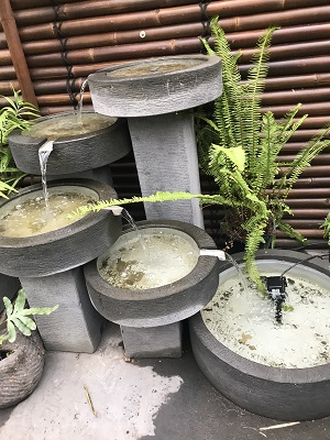 Free Standing Cascading Bowls Waterfall