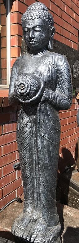 Buddha Standing  Buddha with Urn
