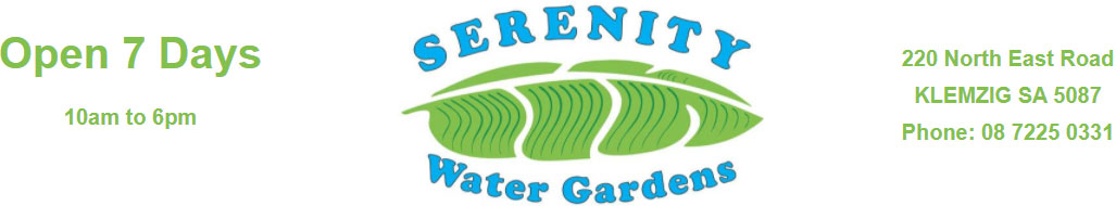 Serenity Water Gardens Logo