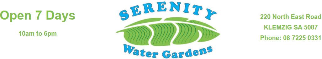 Serenity Water Gardens Logo